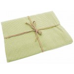 Mini Gingham  Avocado tablecloth
